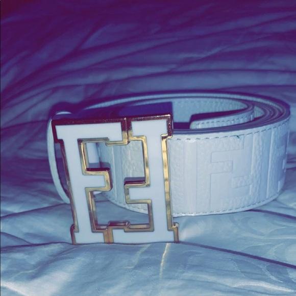 Fendi Other - Fendi White/Gold Belt